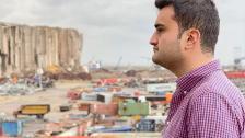 الشيف بوراك من أمام مرفأ بيروت: من قلبي سلام لبيروت