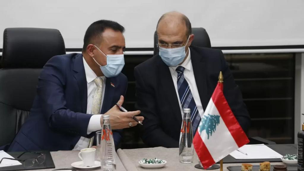 """""""استشارات وخدمات طبية وصحية مقابل النفط""""... الوفد العراقي يؤكد حاجة المؤسسات الصحية العراقية إلى الخبرات اللبنانية"""