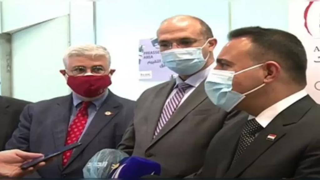 وزير الصحة العراقي من مستشفى الجامعة الأميركية: لدينا اتفاقيات كثيرة لعلاج المرضى العراقيين وأيضا لدينا الكثير من الأطباء العراقيين الذين تدربوا في هذه الجامعة