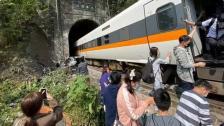 بعد كارثة قطار سوهاج.. خروج قطار ركاب عن مساره في تايوان ومقتل 48 شخصًا وإصابة العشرات