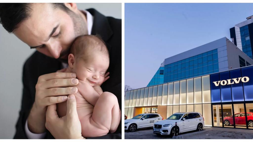 """في خطوة مميزة...شركة """"فولفو"""" للسيارات تمنح 6 أشهر عطلة لكل أب يستقبل مولوداً جديداً!"""
