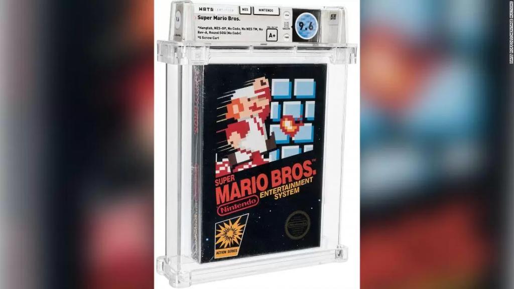 """بعد نسيانه في دُرج لـ 35 عاما...بيع شريط لعبة """"ماريو"""" بمبلغ 660 ألف دولار!"""