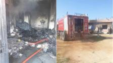 بالصور/ مأساة في بريتال..وفاة أم وأطفالها الثلاثة إثر إندلاع حريق في منزلهم
