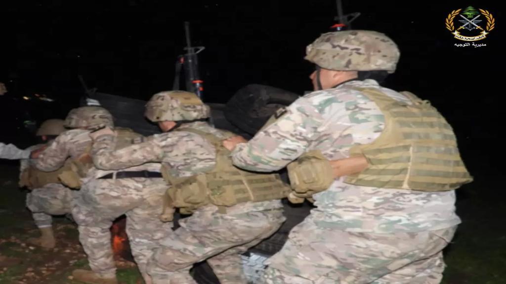 الجيش اللبناني يداهم مخيمات للنازحين في قضاء زحلة ويعثر على مسروقات