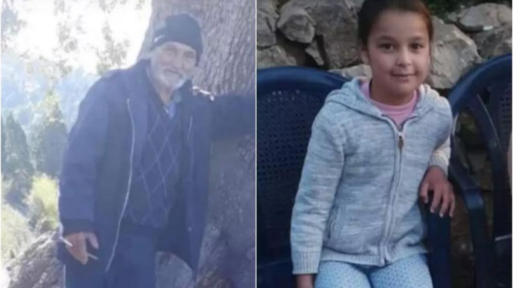 """بالصور/ """"ليا"""" ابنة الـ11 عاماً وجدّها.. ضحيتا الحادث المأساوي الذي شهدته بلدة جيرون ـ الضنية"""