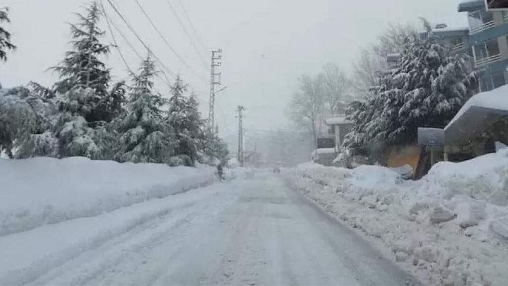 طقس نهاية الاسبوع.. أمطار غزيرة مع عواصف رعدية وثلوج على 1200 متر!