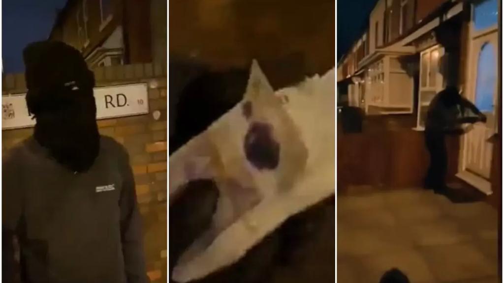 بالفيديو/ لص ملثم يعيد أموالا مسروقة بعد اكتشافه أنها تبرعات لأحد المساجد في بريطانيا