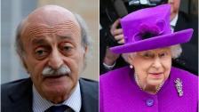 """جنبلاط أبرق إلى ملكة بريطانيا معزيًا: """"وفاة الأمير فيليب كانت حقًا مدعاة حزن عميق لإنكلترا والعالم"""""""