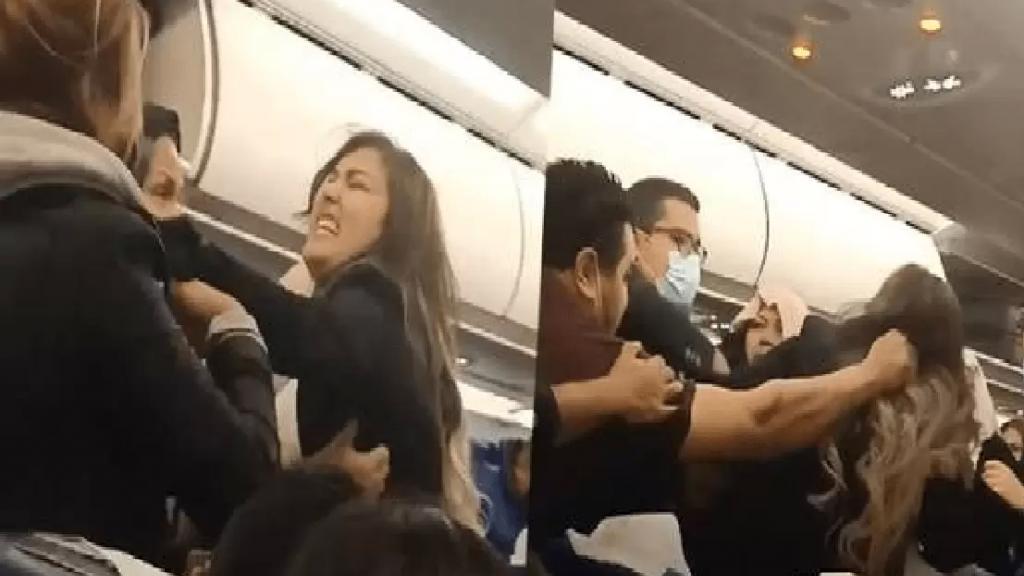 بالفيديو/ شجار عنيف على متن رحلة للخطوط التونسية قبل إقلاعها من اسطنبول تسبب في تأخر السفر لعدة ساعات