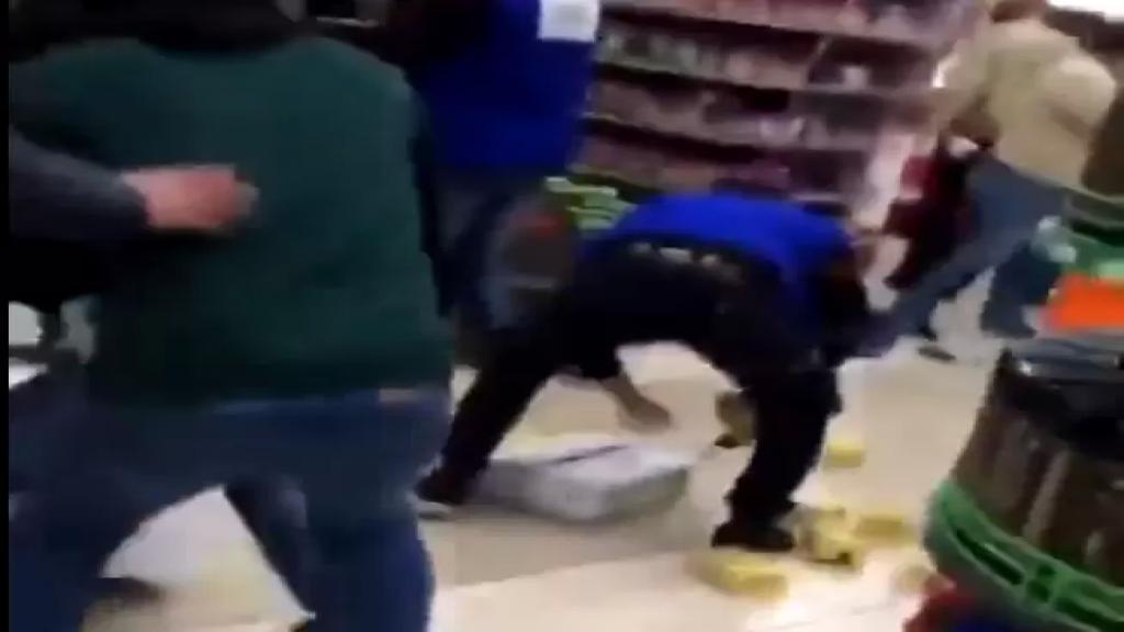 بالفيديو/ معارك الزيت المدعوم تتواصل في متاجر لبنان..وهذه المرة في صربا!