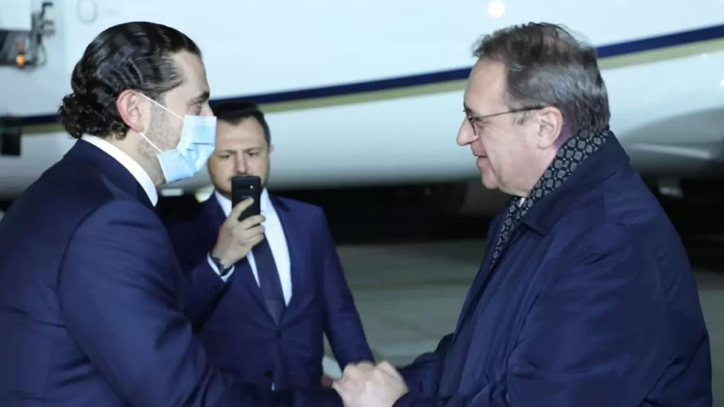 الحريري وصل إلى موسكو للقاء بوتين