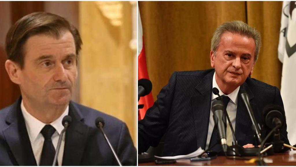 لقاء جمع حاكم مصرف لبنان بوكيل وزارة الخارجية الاميركية دايفيد هيل برفقة السفيرة الاميركية: جددوا دعم الولايات المتحدة لسلامة (الجديد)
