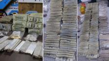 بالصور/ العثور على كنز دفنه داعش تحت الأرض في الموصل والسلطات العراقية ستعيد المبالغ الضخمة إلى البنك المركزي