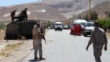 إطلاق نار على دورية للجيش اللبناني أثناء ملاحقة مهربين بنزين في بعلبك...واشتعال الصهريج