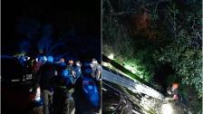 بالصور/ رحلة اربعة شبان في وادي نهر ابراهيم تحولت لمأساة.. انتهت بسقوطهم ومصرع احدهم!