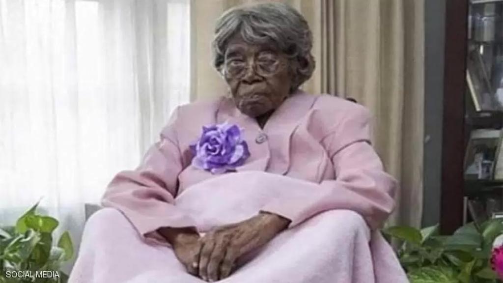 """وفاة """"عميدة الأميركيين"""" عن عمر 116 عامًا تاركة أسرة كبيرة تشمل حوالي 100من أحفاد الاحفاد"""