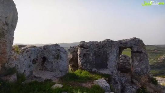 بالفيديو/ بركة الحجر في الطيري.. بقايا أنقاض مميزة لقلعة محصنة سكنتها مملكة غنية واندثرت منذ عصور!