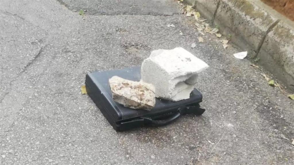 بالصّور/ العثور على حقيبة سوداء مشبوهة في زوق مكايل