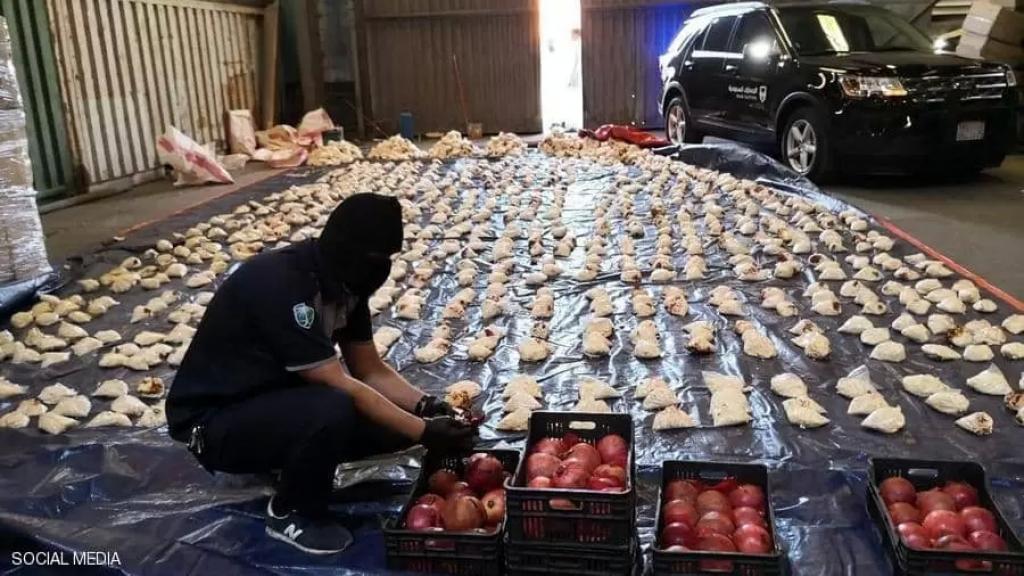 البخاري: بلغ إجمالي ما تم ضبطه من المواد المخدرة ومصدرها لبنان أكثر من 600 مليون حبة ومئات الكيلوغرامات من الحشيش