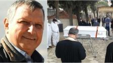 مرجعيون تودع مراسل قناة الجديد الزميل جورج العشي إلى مثواه الأخير