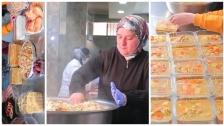 """بالفيديو/ في طرابلس...""""ماما ديما"""" تتوقف عن بيع الطعام في مطعمها في رمضان وتوزعه مجاناً للفقراء!"""