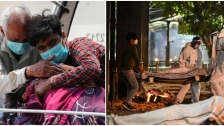 الوضع مروِّع: نقص الأوكسجين يخنق مرضى كورونا في الهند..يموتون في الطرقات وعلى أبواب المستشفيات!