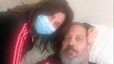 """الإعلامية رابعة الزيات تنشر صورة مع زوجها الإعلامي والشاعر زاهي وهبي وتطمئن: """"الحمد لله زاهي يتماثل للشفاء"""""""
