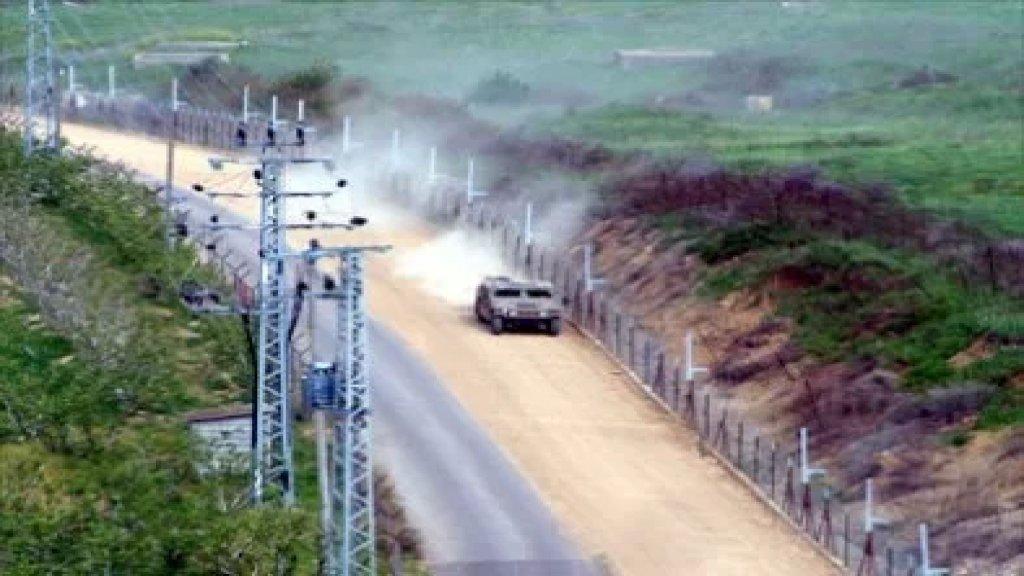 الجيش:  دورية راجلة تابعة للعدو الإسرائيلي خرقت الخط الأزرق في محلة خربة شعيب لمسافة ٤٥ متراً باتجاه الأراضي اللبنانية