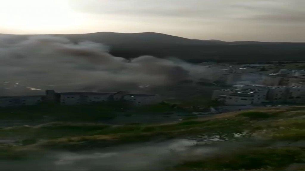 بالفيديو/ الإعلام العبري: انفجار عدد من أنابيب الغاز في إحدى البنايات شمال فلسطين المحتلة