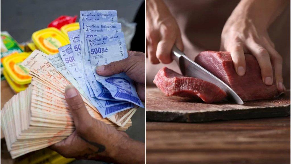 فنزويلا ترفع الحدّ الأدنى للأجور ثلاثة أضعاف لكنّه لا يكفي لشراء كيلو لحم!