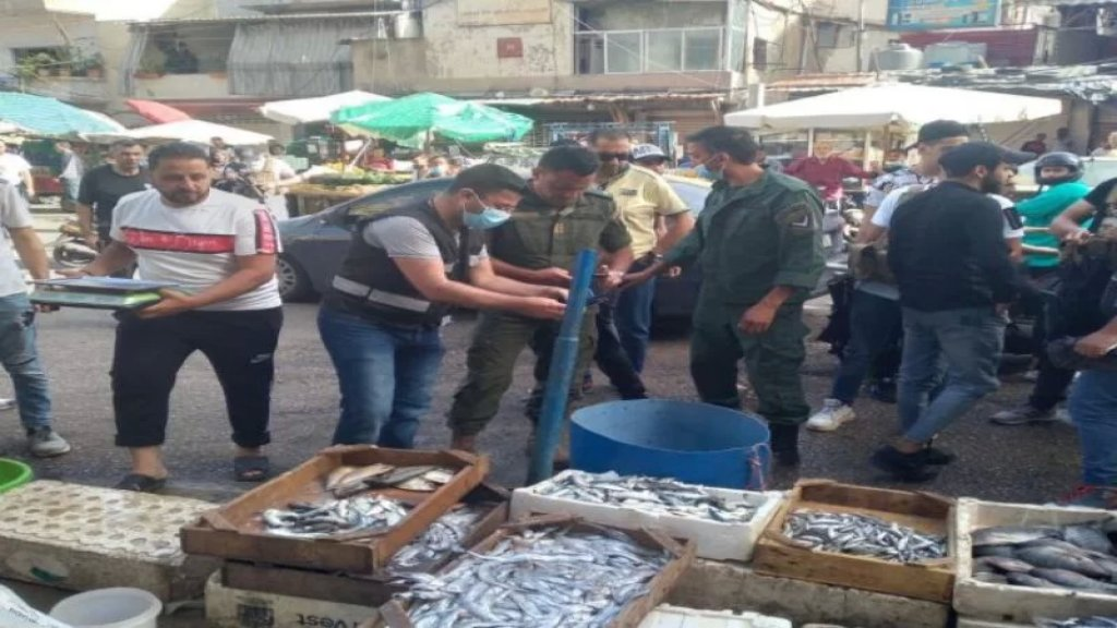 بالصور والفيديو/ أسماك نافقة غير صالحة للاستهلاك البشري في سوق صبرا الشعبي!