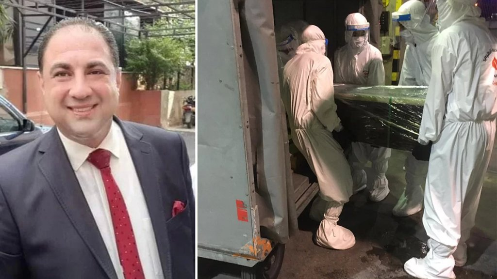بعدما قضى متأثرًا بمضاعفات كورونا في مصر.. جثمان الطبيب وليد سويد ابن كفرحمام يصل إلى مطار بيروت