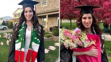 الشابة اللبنانية الأصل سارة ابراهيم.. مغتربة طموحة تخرجت بدرجة امتياز وتدربت في وكالة ناسا وستعمل في شركة فورد