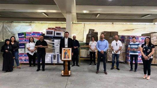 وصول معدات طبية ومواد غذائية ومستلزمات الأطفال للعائلات الاكثر حاجة في لبنان من أستراليا