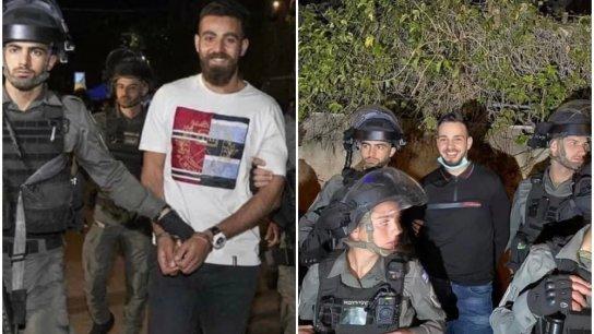 """مواقع التواصل تضج بصُوَر شموخ شبان مقدسيّين عند اعتقالهم خلال مواجهات الأمس.. """"مرفوع الهامة أمشي"""""""