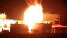 فيديو متداول...حريق كبير في مبنى سكني في سليم سلام