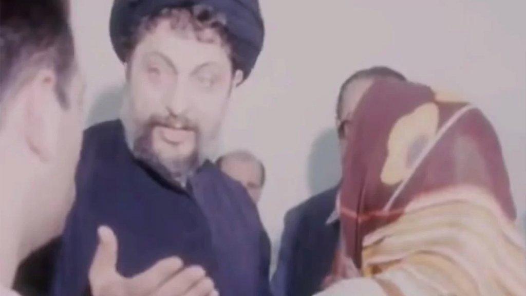بالفيديو/ لقطات نادرة يظهر فيه السيد موسى الصدر عندما أعلن الإضراب عن الطعام لثلاثة أيام في مسجد الصفا، رأس النبع بيروت إحتجاجاً على الحرب الأهلية في لبنان