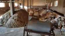 بالصور/ الجيش: دهم مزرعة في بلدة بوداي – بعلبك وضبط معمل لتصنيع المخدرات وكمية من حشيشة الكيف تزن 567 كيلوغراماً