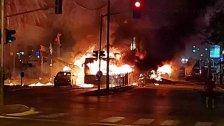 قناة كان: صاروخ يضرب حافلة في حولون