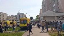 مقتل 11 شخصًا بينهم أطفال اثر إطلاق نار في إحدى المدارس في مدينة قازان الروسية (فيديو)