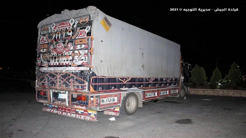 الجيش يضبط كمية كبيرة من البنزين والمازوت و13 طناً من الطحين جميعها مُعدة للتهريب إلى الأراضي السورية