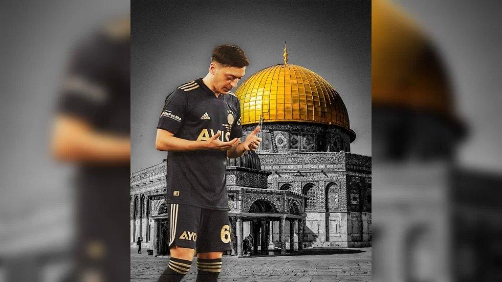 اللاعب الألماني مسعود أوزيل: دعواتي لكم أخواني وأخواتي في فلسطين
