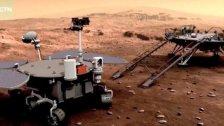 بصمة صينية على الكوكب الأحمر.. عن المركبة الصينية تيانوين -1 التي هبطت لأول مرة على المريخ