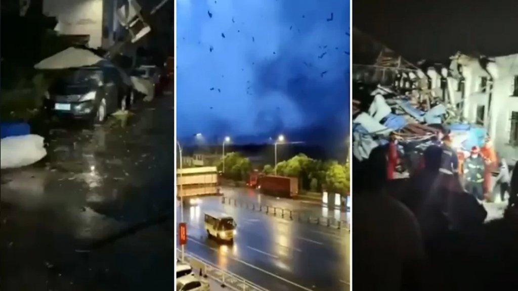 بالفيديو/ إعصاران مدمران يضربان الصين ويخلفان عشرات القتلى والمصابين