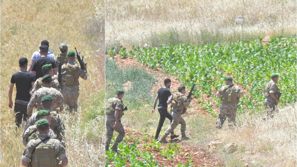 الجيش يعيد شباناً إلى الداخل اللبناني بعد منعهم من اجتياز الحدود
