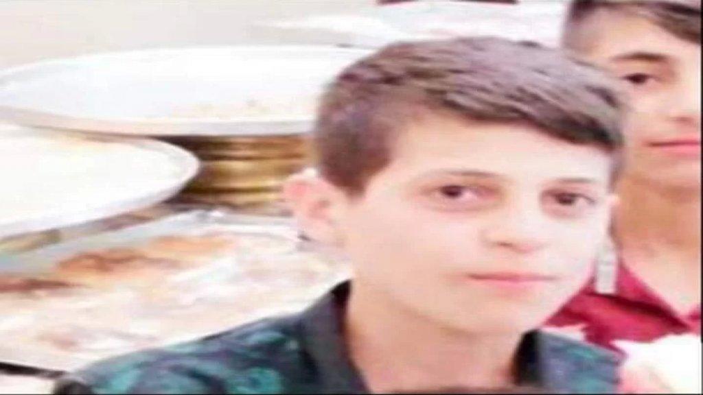 أحمد ابن الـ 14 عاماً ضحية الخلاف المروري في كفرشلان الضنية..تعرض للضرب فأصيب إصابة  بليغة في الرأس وجروح في مختلف أنحاء جسمه!