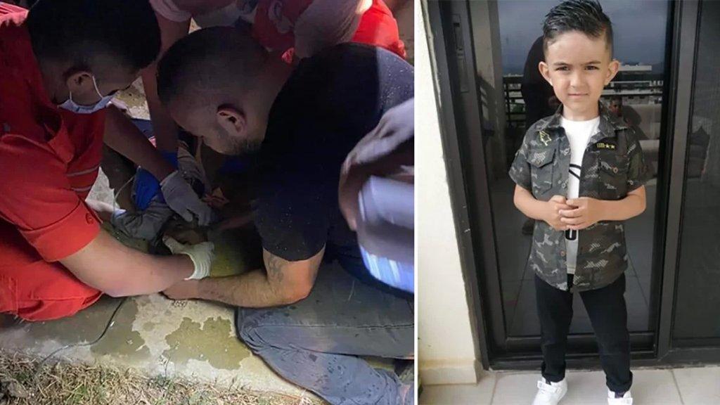 """حادثة مأساوية في بحنين.. وفاة طفل اثر سقوطه في """"ريغار"""" للصرف الصحي"""