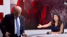 بالفيديو/ وزير الخارجية اللبناني يرفض الإساءة لرئيس الجمهورية من ضيف سعودي على الشاشة وينسحب: من قتل الخاشقجي وجلب الدواعش للمنطقة لا يستحق أن يتكلم.. هؤلاء بدو!
