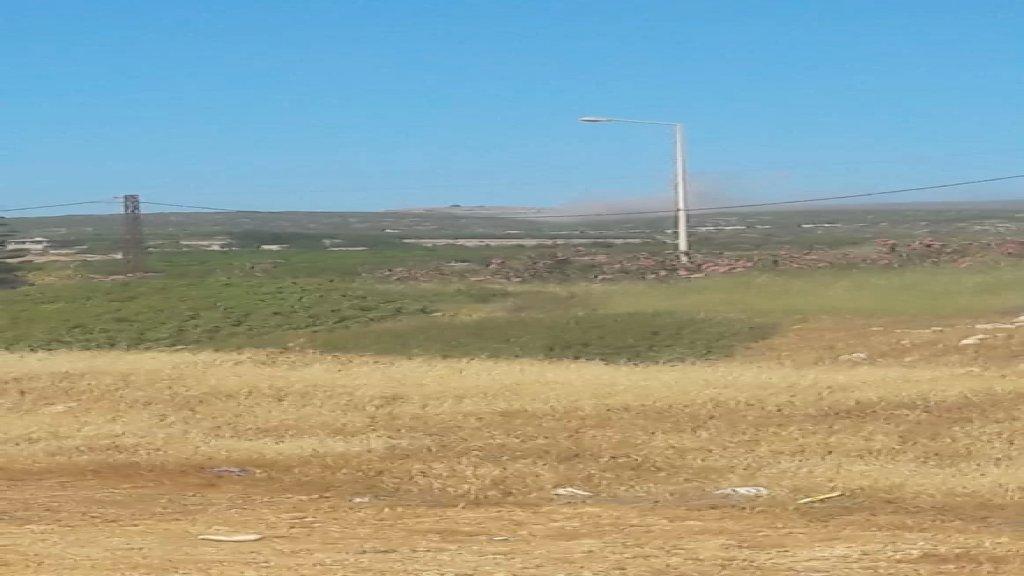 بالصور/ قصف في محيط الناقورة بعد اطلاق عدد من الصواريخ باتجاه الاراضي المحتلة