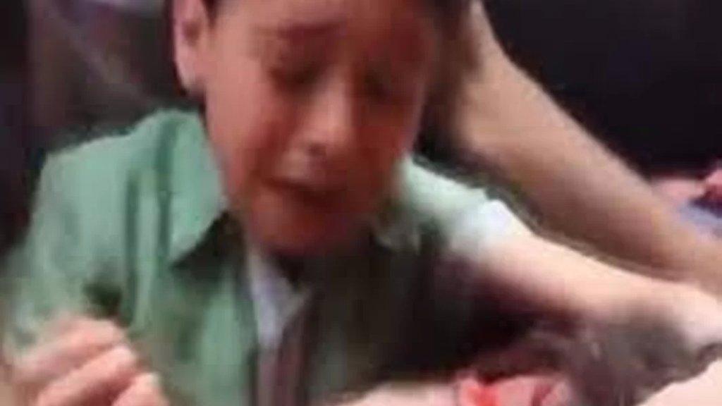 حقيقة مقطع الفيديو المتداول عن مقتل شخص سوري قيل انه حصل في سعدنايل.. قوى الامن تنفي وتوضح: الحادثة حصلت في سوريا منذ عدة سنوات